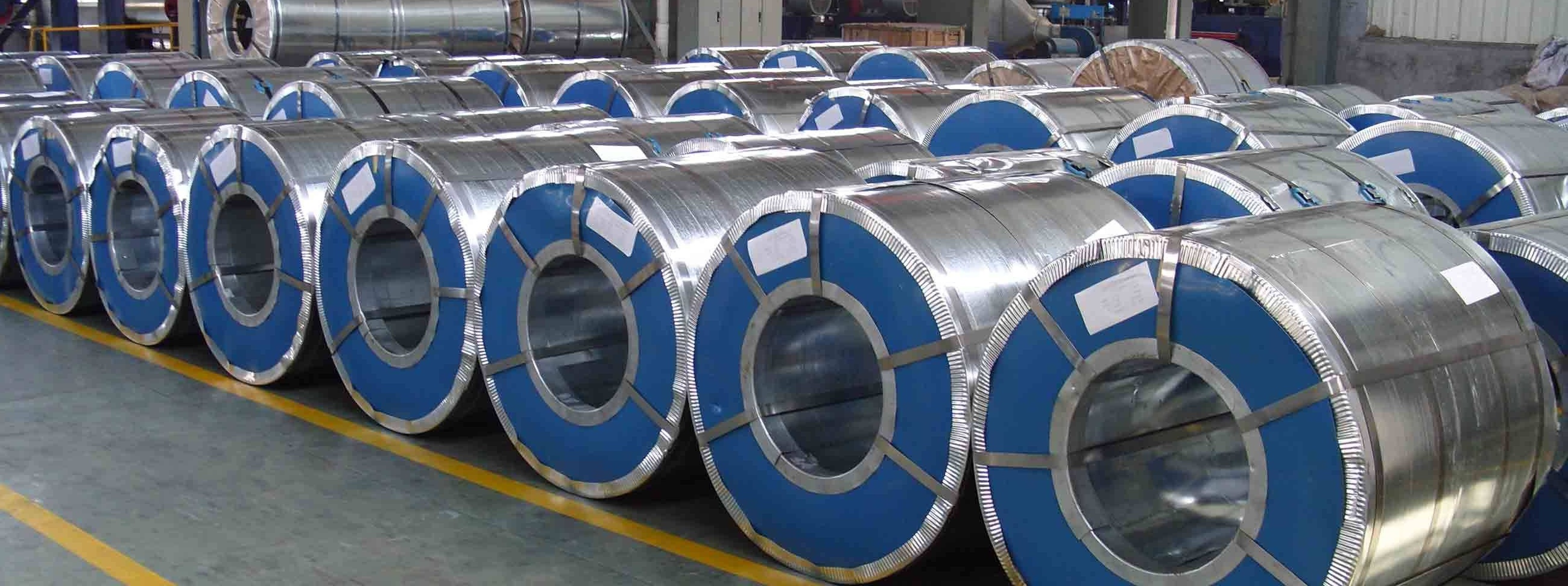 GALVANIZED STEEL WITH POLYMER COATING